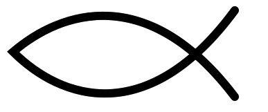 A hal, mint a kereszténység ősi jelképe
